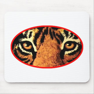 Tiger Eyes Red The MUSEUM Zazzle Gifts Mouse Pad