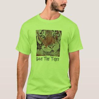Tiger Eyes. Save The Tiger. Bengal Tiger T-Shirt
