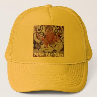 Tiger Eyes. Save The Tiger. Bengal Tiger Trucker Hat
