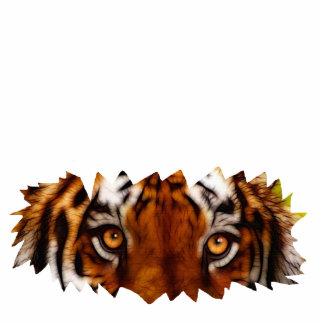 TIGER EYES sculpted Wildlife Magnet Photo Sculpture