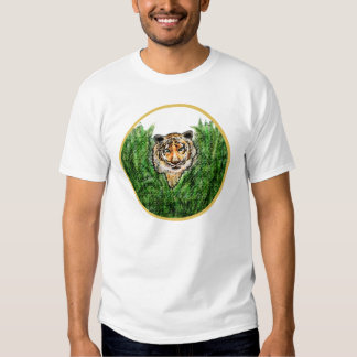 Tiger Eyes Tee with Contrast Stitching