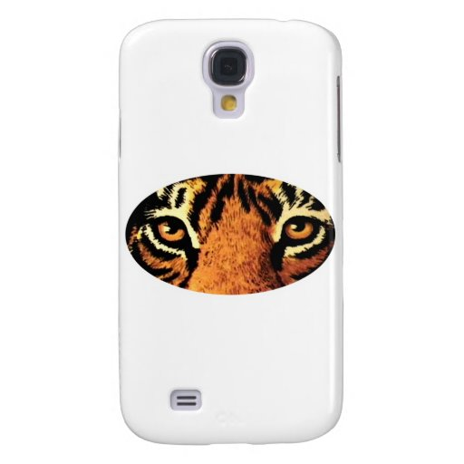 Tiger Eyes White The MUSEUM Zazzle Gifts Galaxy S4 Cases
