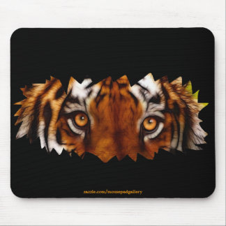 Tiger Eyes Wildlife Mousemat Mouse Pad