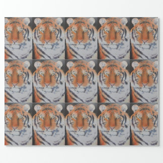 Tiger Eyes Wrapping Paper