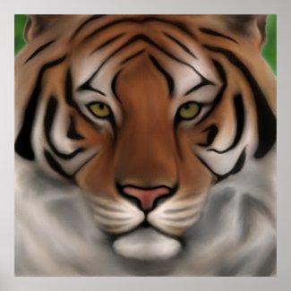 Tiger Face 2 print