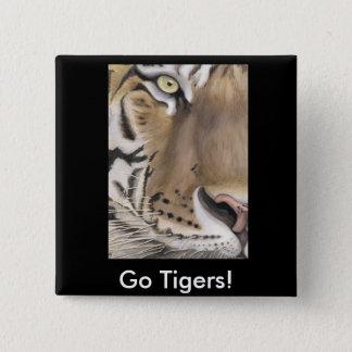 Tiger Face Button