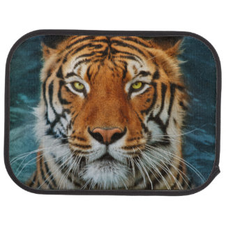 Tiger Face Car Floor Mat