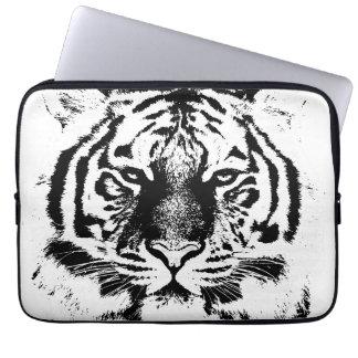 Tiger Face Close-Up 2 Laptop Computer Sleeve