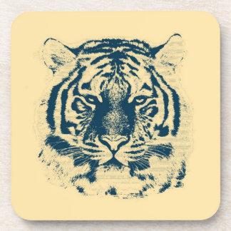 Tiger Face Close-Up 3 Drink Coaster