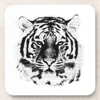 Tiger Face Close-Up 5 Coaster