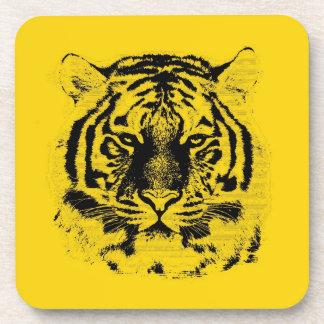 Tiger Face Close-Up 7 Beverage Coaster
