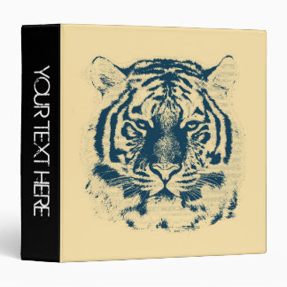 Tiger Face Close-Up | Personalized Binders 2