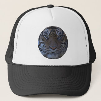Tiger Face Closeup Trucker Hat