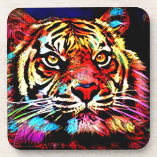 Tiger Face Drink Coaster