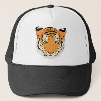 Tiger Face/Head Trucker Hat