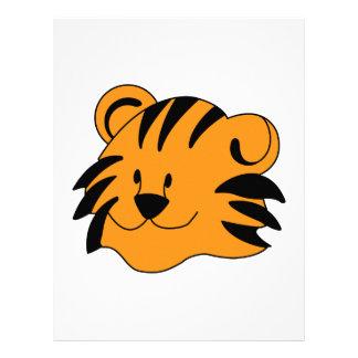 Tiger Face Letterhead