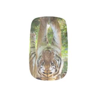 Tiger face minx® nail wraps