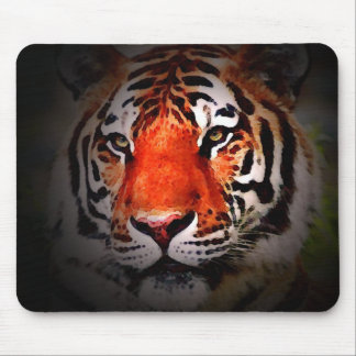 Tiger Face Mouse Pad
