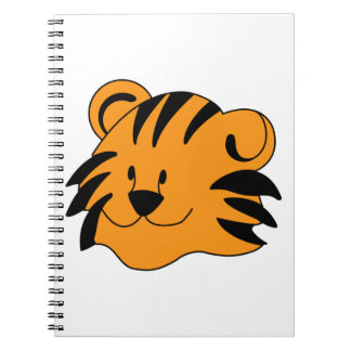Tiger Face Notebook