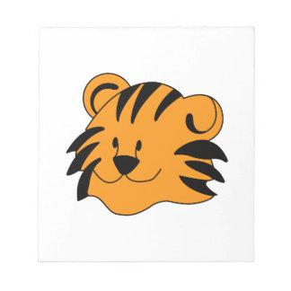 Tiger Face Notepad