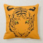 Tiger Face Pillow