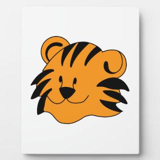 Tiger Face Plaque