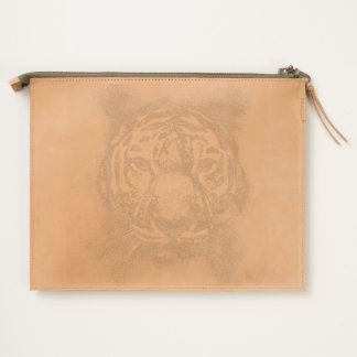 TIGER FACE TRAVEL POUCH