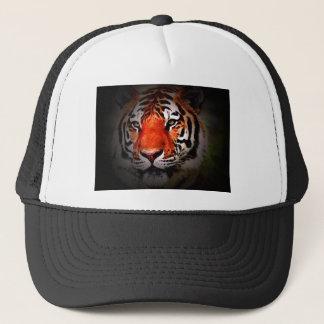 Tiger Face Trucker Hat