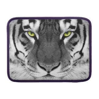Tiger face - white tiger - eyes tiger - tiger MacBook air sleeve