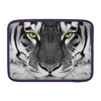 Tiger face - white tiger - eyes tiger - tiger sleeve for MacBook air