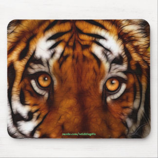 Tiger Face Wildlife Mousemat Mouse Pad