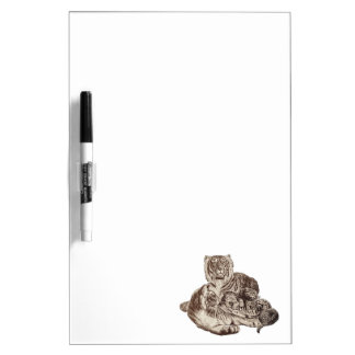 Tiger Family Dry Erase Boards