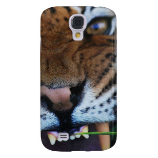 Tiger Fangs Close UP Samsung S4 Case