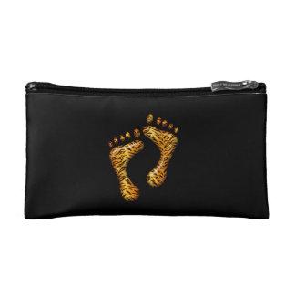 Tiger Feet Cosmetic Bag