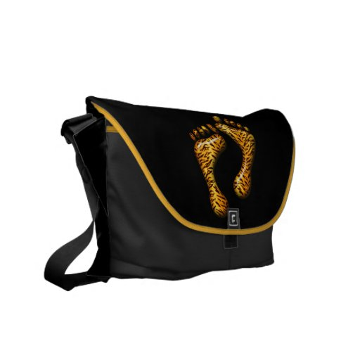 Tiger Feet Courier Bags