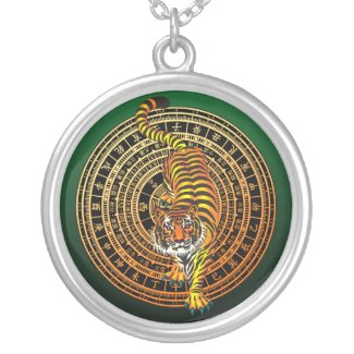 Tiger Feng Shui zazzle_necklace
