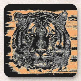 Tiger Fine Art 2 Coasters
