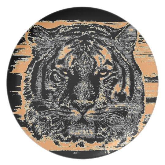 Tiger Fine Art 2 - Plate