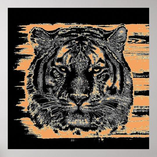 Tiger Fine Art 2 Poster