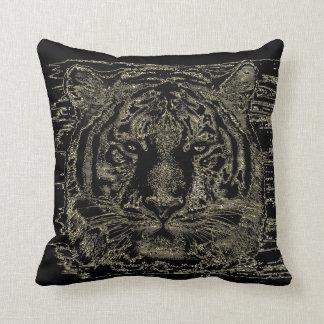 Tiger Fine Art 3 - Pillow