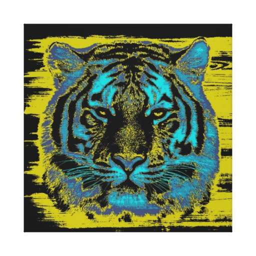 Tiger Fine Art Wrapped Canvas Canvas Prints