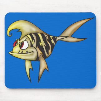 Tiger Fish Mouse Pads