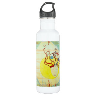 """""""Tiger Fish"""" Whimsical Stainless Steel Water Bottle"""