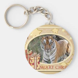 Tiger Flavio-c-148 copy Basic Round Button Keychain