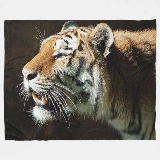 Tiger Fleece Blanket, Large
