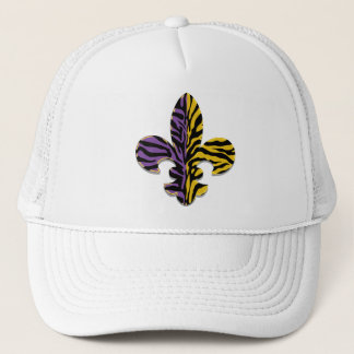 Tiger Fleur de lis Apparel Trucker Hat