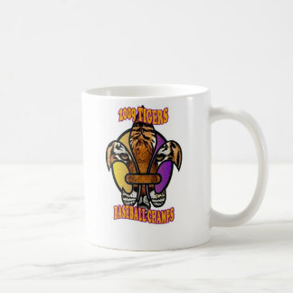Tiger Fleur De Lis Coffee Mug