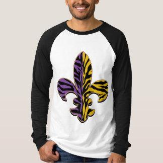 Tiger Fleur de lis Dark Apparel T-Shirt