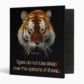 Tiger Fractal Binder
