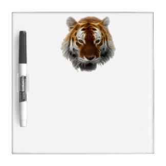 Tiger Fractal Dry Erase Boards